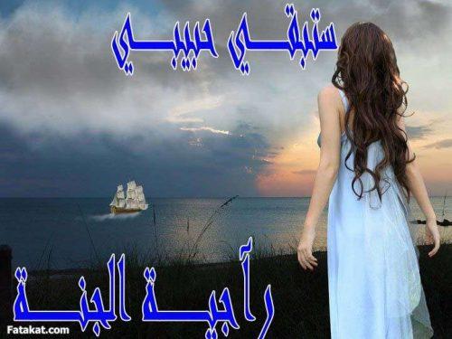 رواية ستبقى حبيبي لـ راجية الجنة