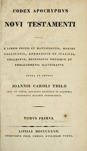 Codex apocryphus Novi Testamenti