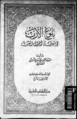 بلوغ الأرب في معرفة أحوال العرب