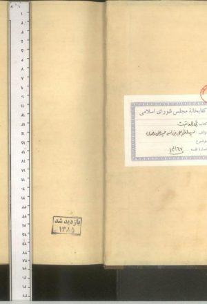 زاد عاقبت؛سید اظهر علی بن سید حیدر علی رضوی کربلایی (قرن13 ق.)