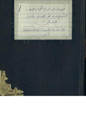 حدائق الدقايق في رساله علامه الحقايق = شرح الانموذج(سعدالدين بردعي (10هـ))