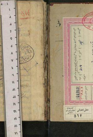 اسامی مشایخ قم = تذکره مشایخ قم؛نورالدین علی بن حیدر علی منعلی قمی (زنده در978 ق)