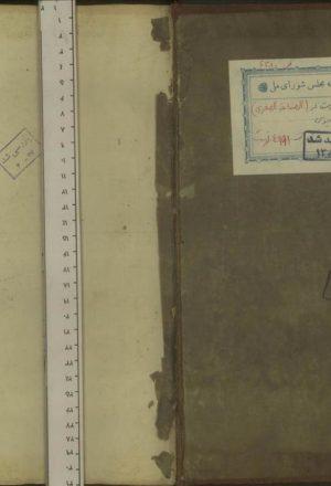 الصناعه الصغري ؛ابوالحسن علي بن رضوان بن علي بن جعفر