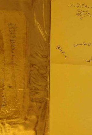 تحفة اللطايف في فضائل الحبراب عباس ووج والطائف(قطعه منه)
