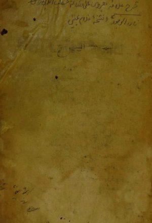مجموع من كتابين اولاهم : شرح رسالة التصورات والتصديقات للقطب الرازي