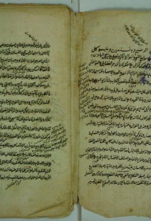 حاشية علي مختصر المعاني لسعد الدين التفتازاني – قطعة منه