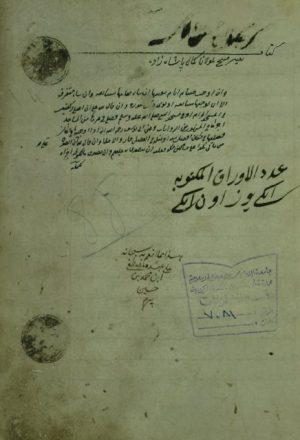 شرح كتاب التنقيح لصدر الشريعة
