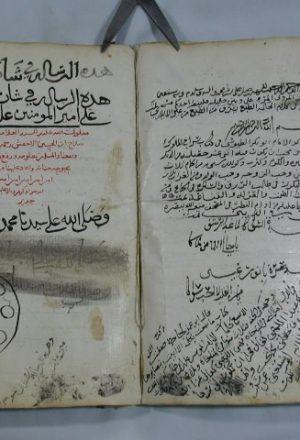 الرسالة في شأن المتقدمين على أمير المؤمنين علي بن أبي طالب