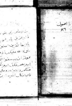 لباب الأصول وبديع الفصول للسيد الشريف علي بن محمد الجرجاني