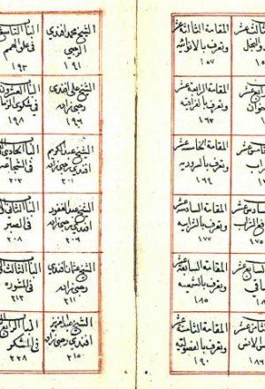 مخطوطة - نزهة المشتاق في علماء العراق