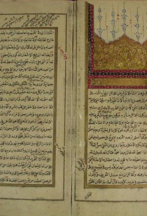 مخطوطة - حاشية على امتحان الأذكياء