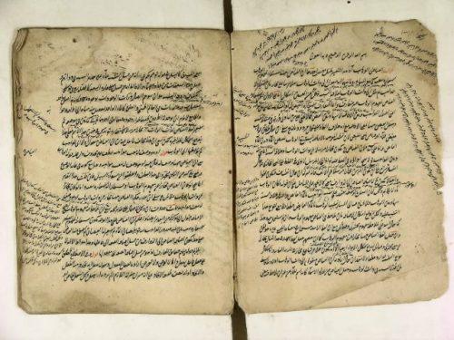 مخطوطة - حاشية عبد الرحيم، على لوامع الأسرار، (للتحتاني) شرح مطالع الأنوار للأرموي