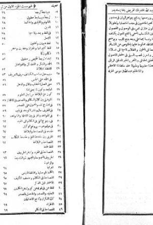 مخطوطة - النفع المعوّل في ترجمة التلخيص والمطول (ج: 1)