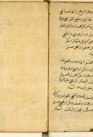 مخطوطة - شرح الأسباب والعلامات لنجيب الدين السمرقندي