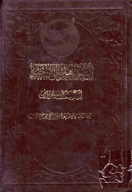 الشواهد المنتخبة لكتاب السيوطي