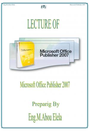 Microsoft Publisher 2007