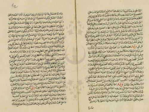 مخطوطة - فتاوى الرملى الشافعي