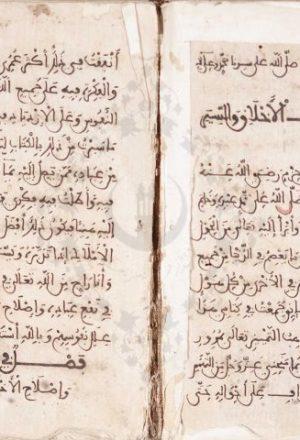 مخطوطة - مداواة النفوس فى تهذيب الأخلاق لابن حزم الأندلسي