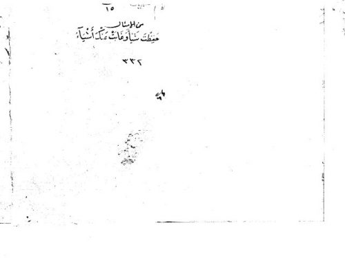 مخطوطة - وفاق المفهوم في إختلاف المقول و المرسوم - أبن مالك - 19 - 410