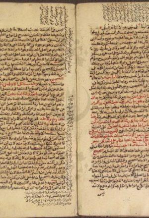 مخطوطة - تدريب الراوى فى شرح تقريب النواوى للسيوطي