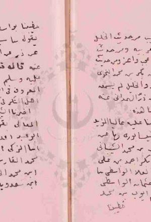 مخطوطة - تخريج أحاديث الأذكار لابن حجر