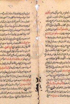 مخطوطة - مفحمات الأقران في مبهمات القرآن للسيوطي