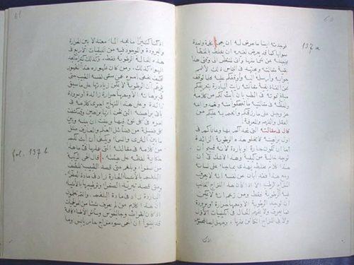 مخطوطة - رسالة الشيخ ابن رضوان إلى أطباء مصر