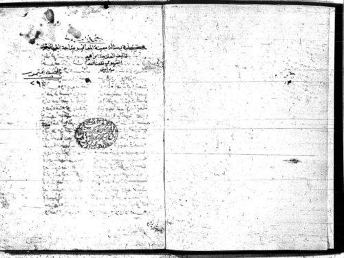 مخطوطة - معنية المعانى فى صناعة الطب