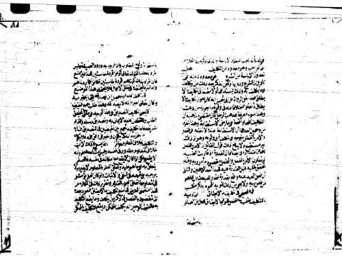 مخطوطة - البرهان في أصول الفقه -ج1