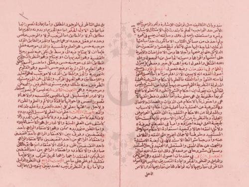 مخطوطة - الحاصل من المحصول في أصول الفقه- 339069