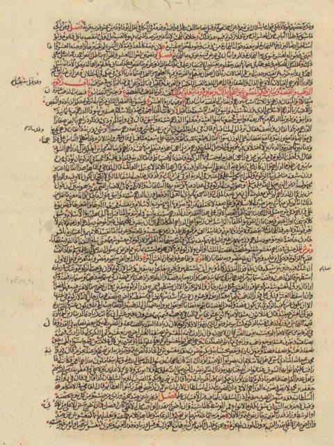 مخطوطة - الفروع فى الفقه الحنبلى لابن مفلح المقدسي