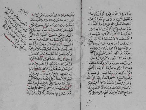 مخطوطة - الفوائد السنية في المسائل الدينية