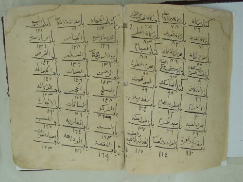مخطوطة - المستقنع مختصر المقنع-عبدالرحمن السعدي (0)
