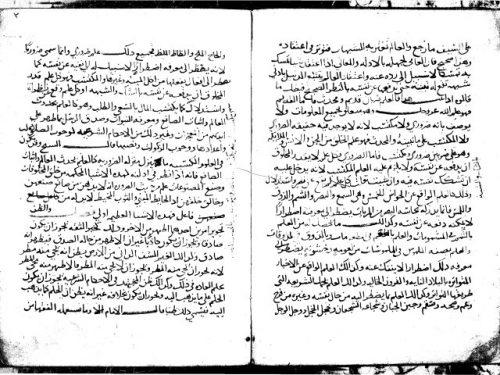 مخطوطة - شرح اللمع في اصول الفقه