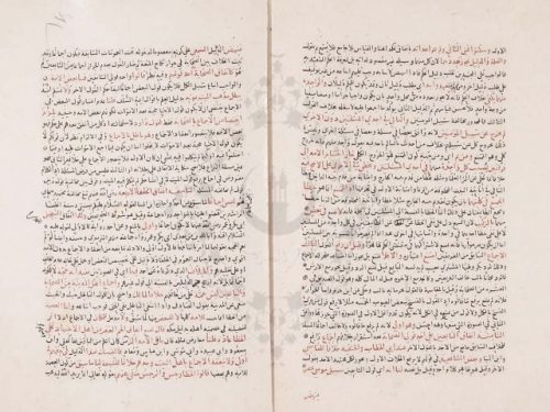 مخطوطة - شرح علاء الدين الكناني لمختصر البلبل في اصول الفقه للطوفي