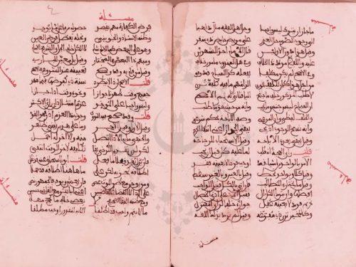 مخطوطة - نظم جمع الجوامع في أصول الفقه للأشموني