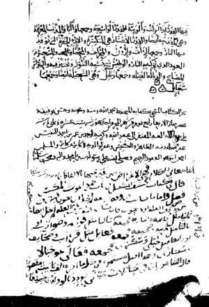 مخطوطة - كفاية المتحفظ ونهاية المتلفظ