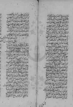 مخطوطة - نظم كفاية المتحفظ - ابن الخويي
