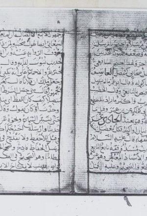 مخطوطة - المنتخب في علوم الحديث للماردينيـ