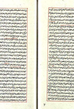 مخطوطة - تعليقات القاري على ثلاثيات البخاري 25 ورقة القاري