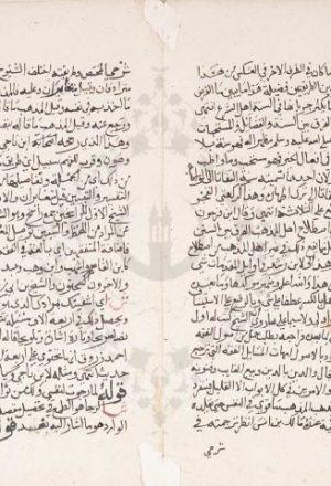 مخطوطة - تجريد على رسالة ابن أبي زيد القيرواني للحطاب المالكي