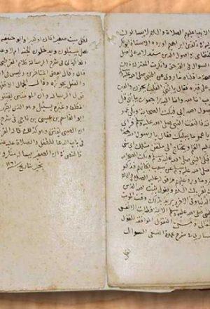 مخطوطة - الاحتفال بالأطفال للسيوطي