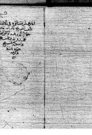 مخطوطة - الازهار المتناثرة للسيوطي