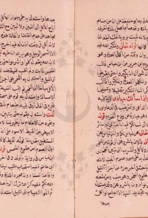 مخطوطة - الإكليل في استنباط التنزيل للسيوطي