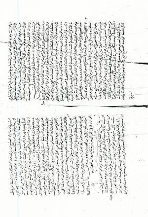 مخطوطة - المهذب فيما وقع في القرآن من المغرب ـ للسيوطي