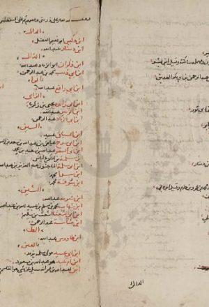 مخطوطة - الديباج على صحيح مسلم بن الحجاج  للسيوطي