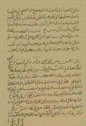 مخطوطة - السعادة والحجج العشر-64ـ رسالة في السعادة والحجج العشر لابن سينا