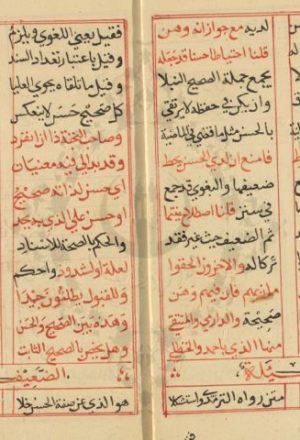 مخطوطة - ألفية الحديث للسيوطي