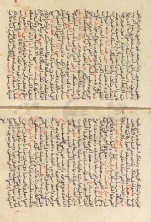 مخطوطة - الكلم الطيب والقول المختار فى المأثور من الدعوات والاذكار للسيوطي