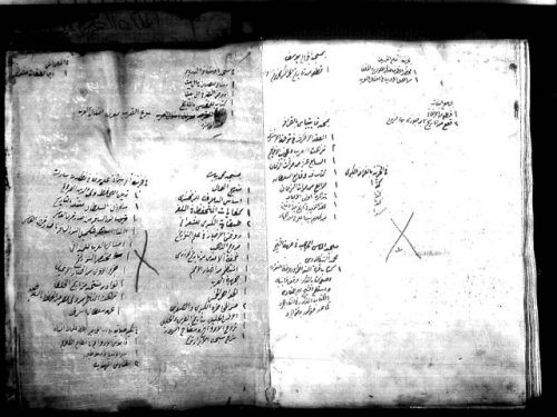 مخطوطة - تراجم علماء مصر في القرن الثاني عشر والثالث عشر